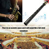Black Pocket Saxophone With Carrying Bag Woodwind Instrument Gift Students R0C2