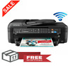 Epson Printer Machine Fax Scanner Copier All-In-One Wireless Office Home Wi-Fi
