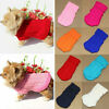 Solid Warm Dog Knit Sweater Pet Clothes Winter Small Large Dog Chihuahua Coat H