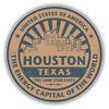 Houston Texas Grunge Vintage Travel Stamp Car Bumper Sticker Decal -  ''SIZES''