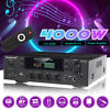 4000W HiFi bluetooth 5.0 Power Amplifier Home Stereo Audio 2 Channel FM AMP