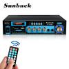 5000W bluetooth Home Stereo Power Amplifier 2 Channel Receiver Amp Hi-Fi FM