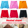 Heated Shawl Shoulder Care Electric Blanket USB Powered Relaxation Knees Bedding
