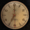 Vintage Elco Automatic Men's Watch Movement Ticks Cal 1256 Incabloc 17j Swiss