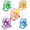 US Hamster Wheel Running Exercise Scroll Silent Mouse Rat Gerbil Small Pet Toys