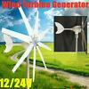 Wind Turbine Generator Kit 500W Powerful 8 Blades 12V/24V Windmill Power