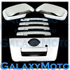 Chrome Mirror+4 Door Handle+FULL Tailgate Cover for 05-12 Nissan Frontier