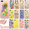 Slim Cute Fruit Banana Pineapple Soft TPU Phone Case For iPhone 5 5S 6 6S 7 Plus