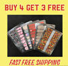 ALL OCCASION COLOR NAIL STRIPS - BUY 4 GET 3 FREE  -  FREE SHIPPING WITHIN USA