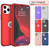 For iPhone 11,Pro,Xs Max,Xr,6,6S,7,8 Plus Case with Screen Protector Full Cover