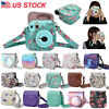 For Fujifilm Instax Mini 8/9 Camera Protective Leather Case Bag Cover Belt USA