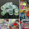 Hamster Cage T Shaped/Curved/Straight Glitter Tube Plastic /Rings /Rubber tunnel