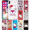 Cartoon 3D Hello Kitty Pattern Phone Case Cover For iPhone Samsung LG Motorola