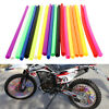 36/72pcs Wheel Spoke Wraps Rims Skins Cover Guard Protector Motocross Dirt Bike