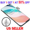 100% FULL COVER HD Screen Protector For Samsung Galaxy S21+ Plus S10e Note 20 10