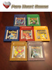 Pokemon Red Blue Green Silver Gold Crystal for Game Boy Color (SHIPS FROM USA)
