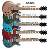 Ibanez AX120 6 string SG Style Right Handed Electric Guitar - Choice of Colors