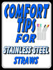 Silicone Comfort Tips for 1/4
