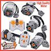 Original Lego Power Functions Parts Motor IR Remote Control Receiver Battery Box