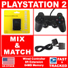 PS2 Wired Controller/64MB Memory Card/6FT Replacement For Sony Playstation - NEW