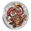 2021 Australia Chinese Myths and Legends 1 oz colored dragon