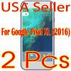 2x New Google pixel XL 2016 HD Clear Screen Protector Guard Shield Film Saver
