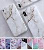 For iPhone 11 Pro Max X 8 7 6S Plus Retro Granite Marble Rubber Soft Case Cover