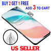 FULL COVER Soft HD Screen Protector For Samsung Galaxy S21+ Plus S20 S9 Note 20