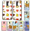 Lovely Bear Rilakkuma Anime Pattern Phone Case Cover For LG Motorola and ZTE
