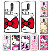 Cute Hello Kitty's Ribbon Floral Pattern Phone Case Cover For LG Motorola ZTE
