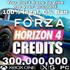 300 million of credits Forza Horizon 4 Xbox -  PC - STEAM (Read the Description)