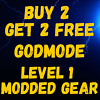 (PS4/5 PC XBOX) Borderlands 3 LEVEL 1 GODMODE MODDED WEAPONS & GEAR