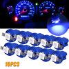 10PCS T5 B8.5D 5050 Car Dashboard Instrument Interior LED Light Bulb Accessories