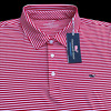 Vineyard Vines Performance Golf Polo Shirt Red Stripe M, L, XL, 2XL $89.50