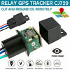 10-40V Car GPS Tracker Relay Cut Oil Mini Hidden Real-time Tracking  ^.