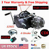 125CC 4Up Manual Clutch Dirt Bike Engine Motor Complete Kit For Honda XR50 CRF50