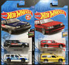 HOT WHEELS VOLVO 850 ESTATE STATION WAGON IN All 4 COLORS LOT OF 4 ⬜️🟦🟥🟨