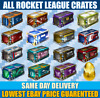 [ALL] Rocket League Crates / Decals / Keys || PS4 & PC || [CHEAPEST]