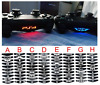 40 in 1 Controller LED Light Bar Sticker For Sony Playstation 4 PS4 Controller