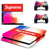 PS4 Vinly Skin Sticker for Sony PS4 PlayStation 4 Console & Controller-Supreme