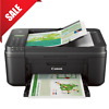 Cannon Printer All In One Inkjet Scanner Coppier Fax Machine Wireless Printing
