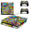 New PlayStation 4 PS4 Console + 2 Controllers Skin Sticker Decal Cover