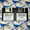 TR-808 & 909 Sounds for Akai MPC 2000XL Drum Kit Sample Pack Floppy Disk
