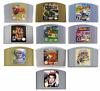 Mario Kart Zelda & More Video Games Cartridge Console Card For Nintendo N64