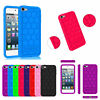 For iPod Touch 7 / iPod Touch 6 / iPod Touch 5 Silicone Case Shock Proof Cover