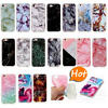 Marble Matte Silicone Soft Phone Case For iPhone X 8/7/6/Plus 5 iPod Touch 5/6th