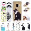 Ultra Slim Thin Pattern Soft Rubber Gel TPU Case Cover For Samsung Galaxy Phones