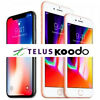 TELUS OR KOODO - iPHONE 4 4s 5 5s 6 6s 6+ 6s+ SE 7 7+ 8 8+ UNLOCK SERVICE