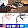 Shark Type Guitar Capo Quick Change Key Clamp Ukulele Mandolin Acoustic Electric