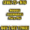 PS4 PS5 - Borderlands 3 Modded Level 72 • M10 - Buy 2 Get 1 Free!